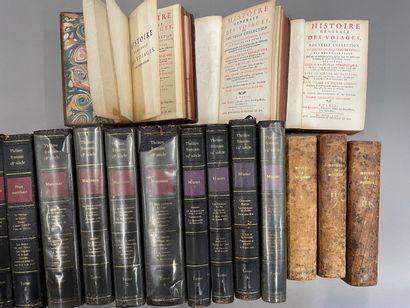 Caisse de livres reliés dont trois tomes...