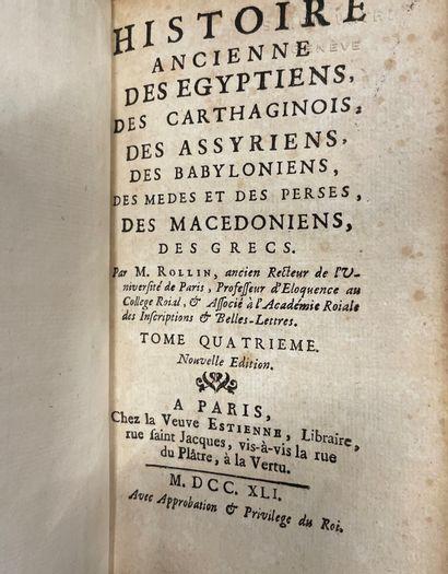 Caisse de livres reliés XVIII°, XIX°, XX°...