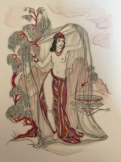 Omar KHAYYAM & Génia MINACHE. Les Robaïyat,...