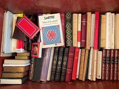 Caisse de livres divers