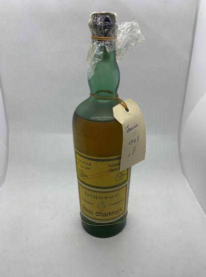 1 bouteille de CHARTREUSE JAUNE TARRAGONE...