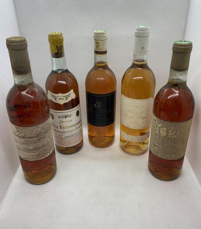 8 bouteilles dont 1 Château d'ARCHES Grand...
