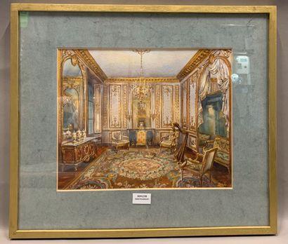 BAILEY (Ecole du XXème siècle)  Salon de...