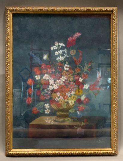 C. HUE  Bouquet de fleurs  Dans le goût de...