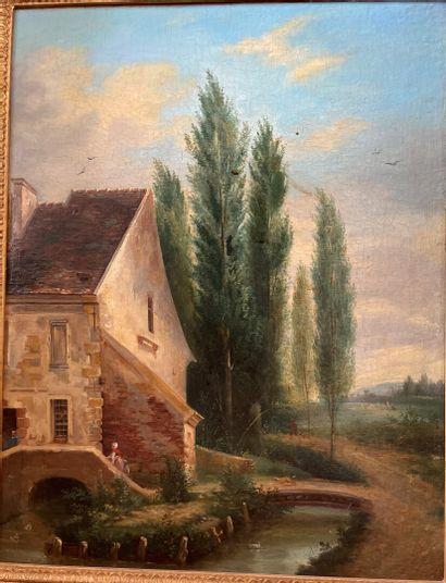 Ecole française vers 1820, entourage de Jean-Victor...