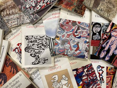 Catalogue of the works of Jean DUBUFFET Under the direction of Max Loreau Jean-Jacques...