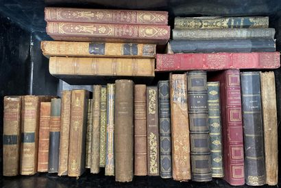 Ten cases of bound and paperback books  19th and 20th century The boxes will be...