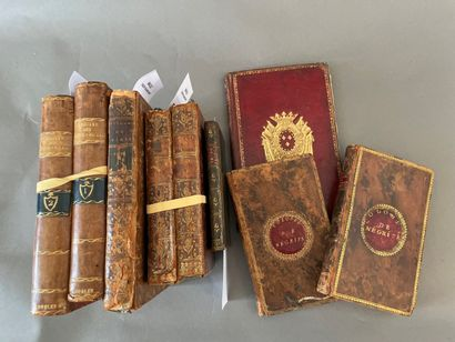 Box of various books from the 18th, 19th and 20th centuries.