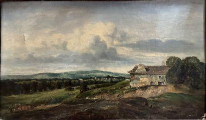 Alexandre Gabriel DECAMPS (1803-1860)  La...