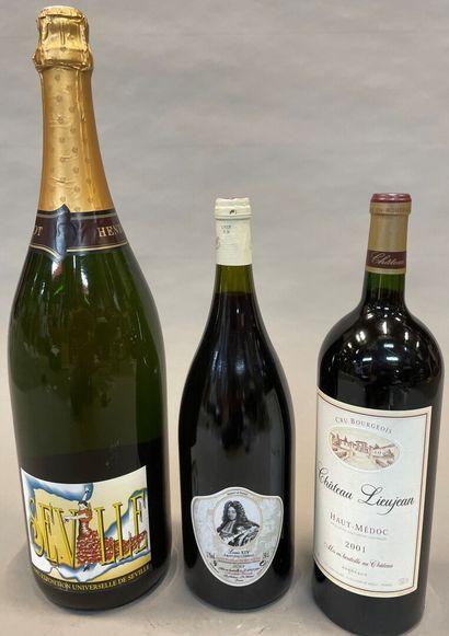 Un jerobam de champagne Henriot Rose Noire,...
