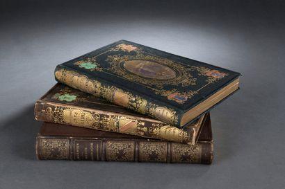 Caisse de livres romantiques du XIXème siècle...