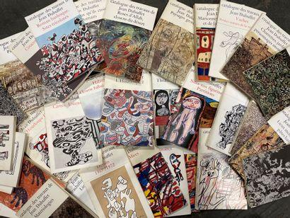 Catalogue des travaux de Jean DUBUFFET Sous...