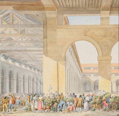 Félicie MEUNIÉ d'après Pierre-François-Léonard FONTAINE (Pontoise 1762 - Paris 1853)