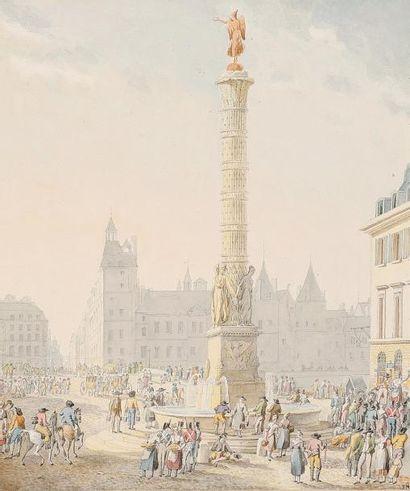 Félicie MEUNIÉ d'après Pierre-François-Léonard FONTAINE (Pontoise 1762 - Paris 1853)...