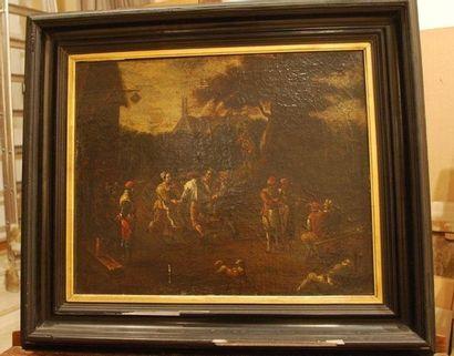 École flamande du XIXème siècle, suiveur de David TENIERS
