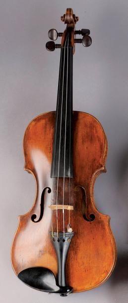 Violon de l'école allemande fait vers 1770....
