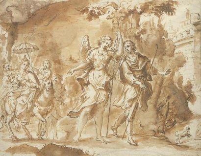 Entourage de Gaspar DIZIANI (1689-1767)