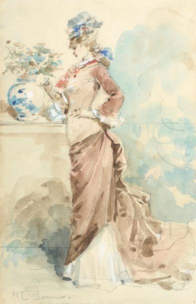 François Clément SOMMIER dit Henry SOMM (1844-1907)