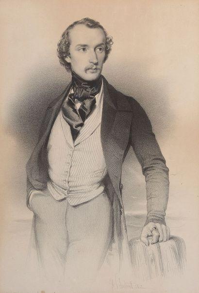 D'après Joseph SCHUBERT (1816-1885)
