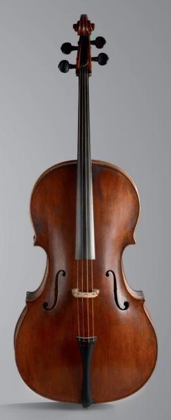 Intéressant et rare violoncelle de Michael...
