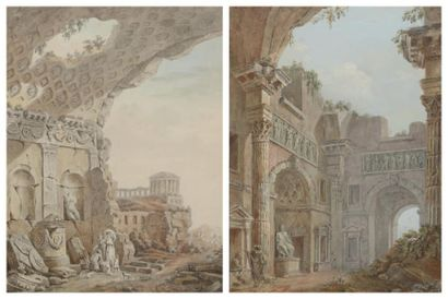 Charles-Louis CLÉRISSEAU (1721-1820)