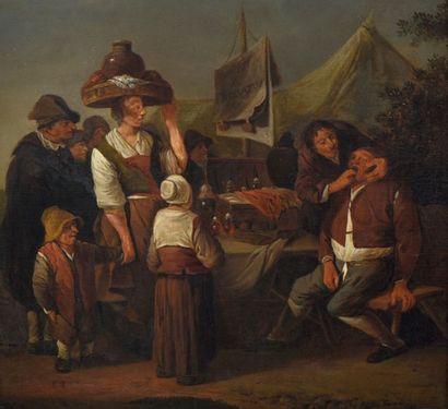 ECOLE HOLLANDAISE DU DÉBUT DU XVIIIe SIÈCLE