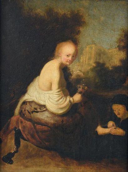 École HOLLANDAISE du XVIIIe siècle, suiveur d'Isaac de JOUDERVILLE