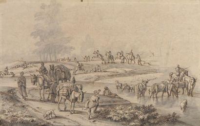 École HOLLANDAISE de la fin du XVIIIe siècle