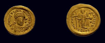 Byzance - Justin Ier (518-527) Solidus 4.49...