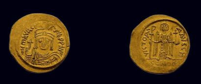 Byzance - Maurice Tibère (582-602) Solidus...