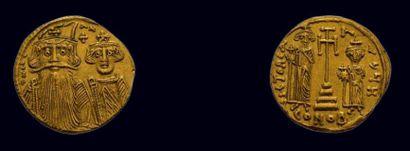 Byzance - Constans II (641-665) Solidus 4.39...
