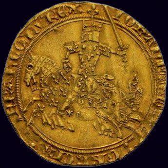 Jean II le Bon (1350-1364) Franc à Cheval...