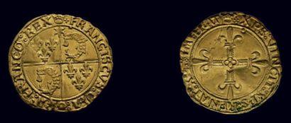 François Ier (1515-1547) Écu d'or du Dauphiné...