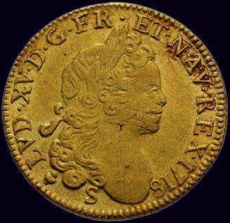Louis XV (1715-1774) Louis à la croix du...