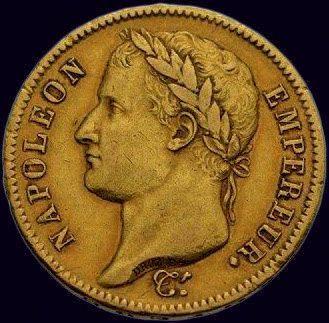 Napoléon Ier (1804-1814) 40 francs 1812 Paris,...