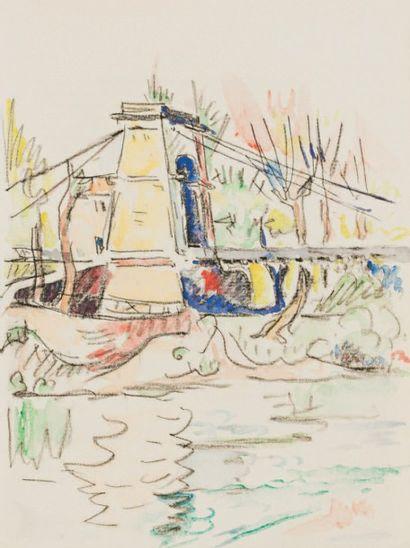 Paul SIGNAC (1863-1935) Illustrations pour les «Mémoires d'un touriste» de Stendhal...