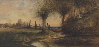 Léon Victor DUPRE (1816-1879), attribué à