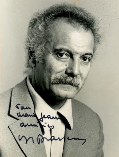 BRASSENS Georges [Sète, 1921 - Saint-<br/>Gély-du-Fesc, 1981], auteur, compositeur et interprète fra
