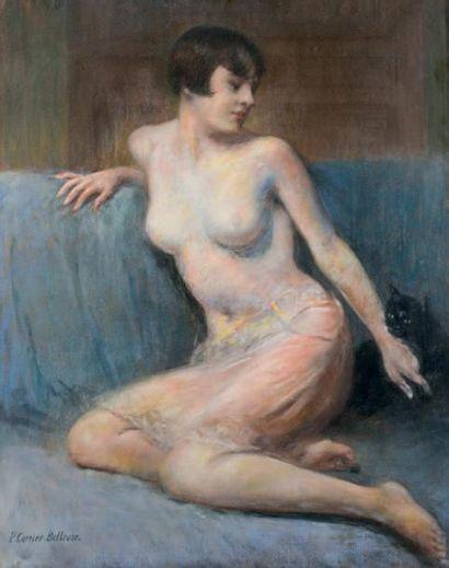 Pierre CARRIER-BELLEUSE (Paris 1851-1932)