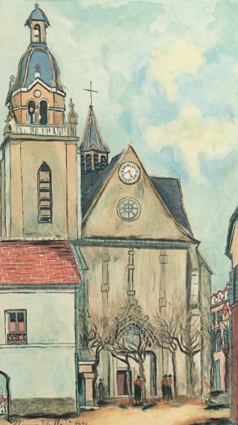 Maurice Utrillo (1883-1955) (d'après)
