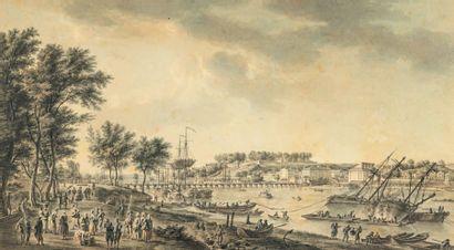 Attribué à Charles Nicolas COCHIN (1715-1790)
