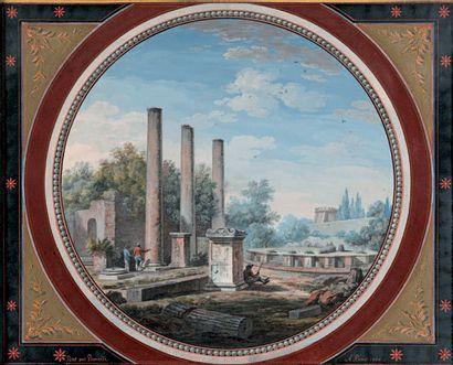 Simone POMARDI (Monte Porzio 1760 - Rome 1830)