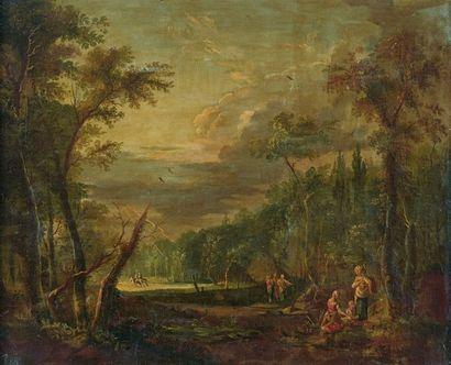 École FRANÇAISE du XVIIIe siècle, entourage de Jean Baptiste CLAUDOT
