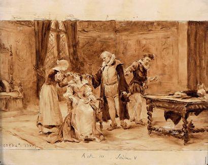 Georges MOREAU DE TOURS (Ivry sur Seine 1848 - Bois le Roi 1901)