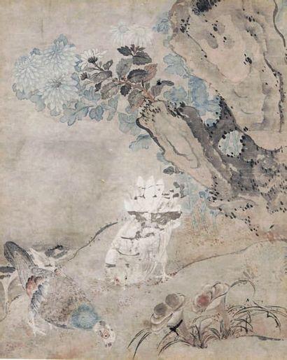 CHINE - XVIIIe/XIXe siècle