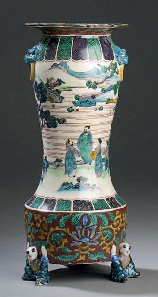 JAPON, Fours de Kutani - Époque Meiji (1868-1912)