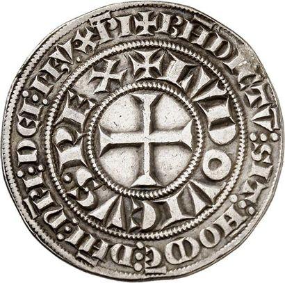 LOUIS IX, dit Saint Louis (1250-1270). Gros...