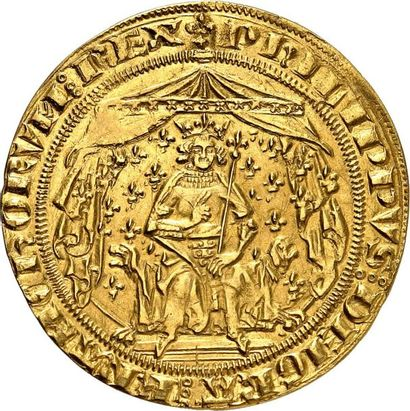 PHILIPPE VI DE VALOIS (1328-1350) Pavillon...