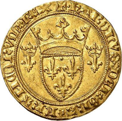CHARLES VII (1422-1461) Écu d'or à la couronne...
