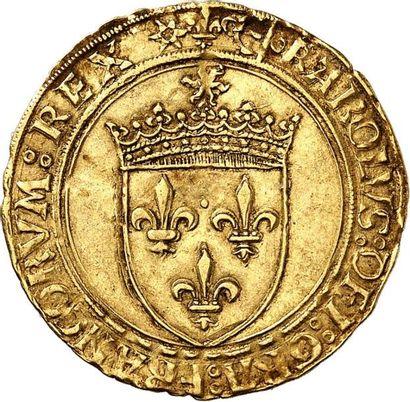 CHARLES VIII (1483-1498). Écu d'or au soleil...
